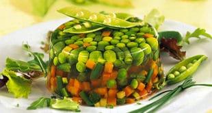 Ricetta di Aspic di Verdure