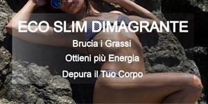 Eco Slim Dimagrante - Detox