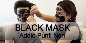 Black Mask Made in Italy