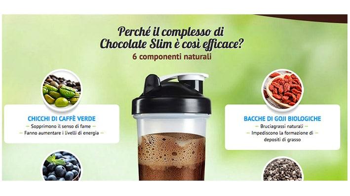 cioccolato complesso naturale per dimagrire