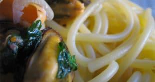 Ricetta Spaghetti Senza Glutine Con Cozze e Salsa di Ricotta