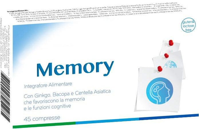 Memory: Integratore per memoria e concentrazione