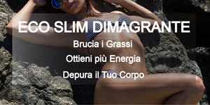 Eco Slim Dimagrante - Detox