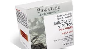 Crema Antirughe al Siero di Vipera Bionature
