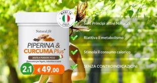 Promo Piperina Capsule NaturalFit: 49,00€ 2 Confezioni Al Prezzo di 1