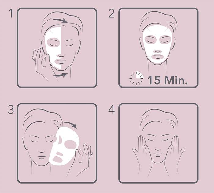 Come usare la Wine Mask