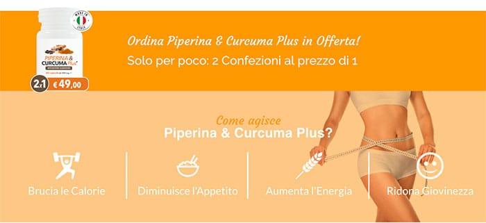 Integratore di Piperina e Curcuma Per Dimagrire: Funziona?