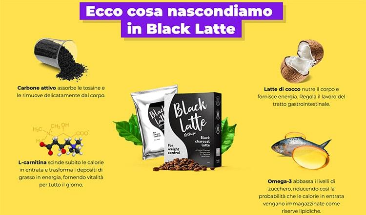 Ingredienti Black Latte