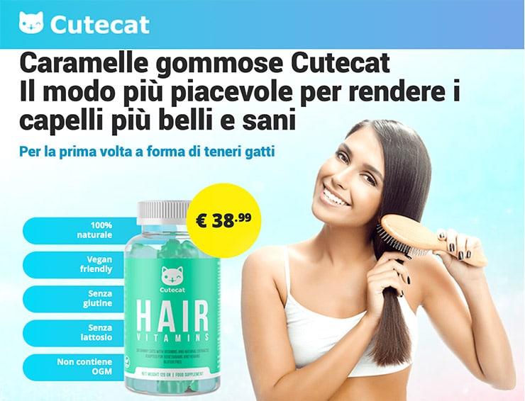 Caramelle Gommose Cutecat Hair